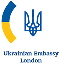 Ukrainian Emb London CROP Logo